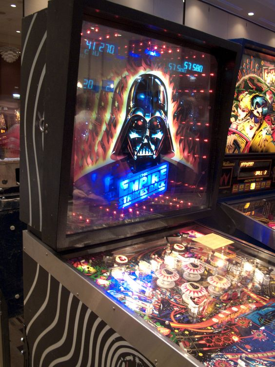 pinball machine start wars